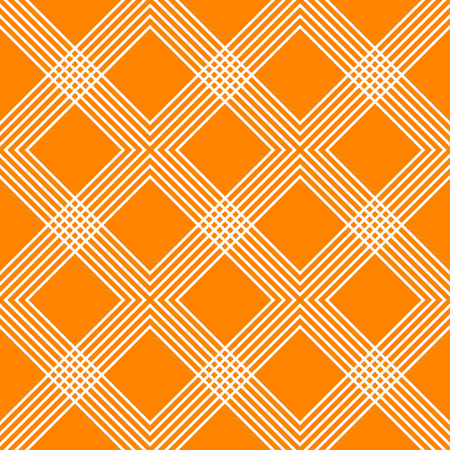 Minimal geometric pattern with intersecting lines forming interlaced X, cross shapes. Colorful X, cross, tartan pattern.