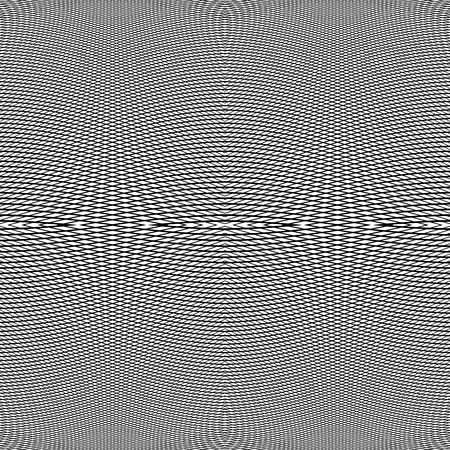 cellular: Grid of dynamic lines. Seamlessly repeatable mesh pattern. Distorted, warped cellular, reticulated background. Illustration