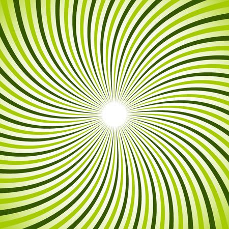 Swirl, twirl, spiral sunburst background. Monochrome pattern.
