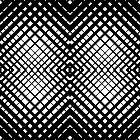 interlace: Mesh-grid pattern with crossing diagonal lines. geometric texture.