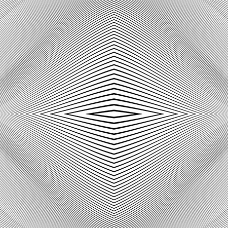 distorted: Repeatable geometric pattern with distorted irregular dynamic lines. Illustration