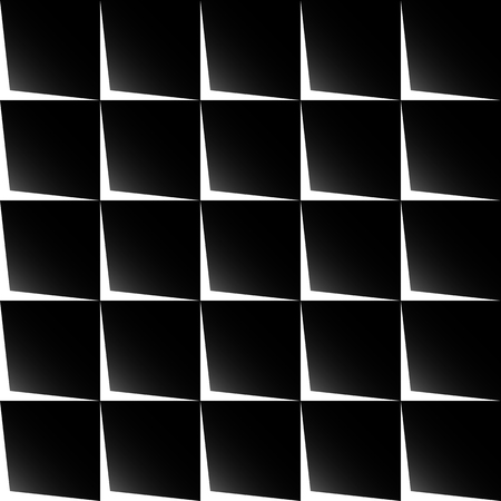monocrome: Simple seamless geometric pattern. Repeatable abstract monochrome background Illustration
