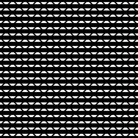 transverse: Tileable grid  mesh geometric pattern series. Repeatable monochrome texture. Illustration