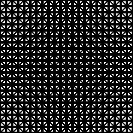 reticular: Tileable grid  mesh geometric pattern series. Repeatable monochrome texture. Illustration