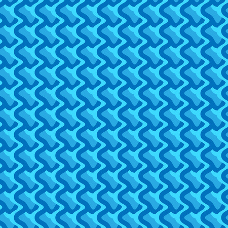 wriggle: Pattern with wavy, billowy intersecting lines. Grid of irregular lines perfectly seamless pattern.