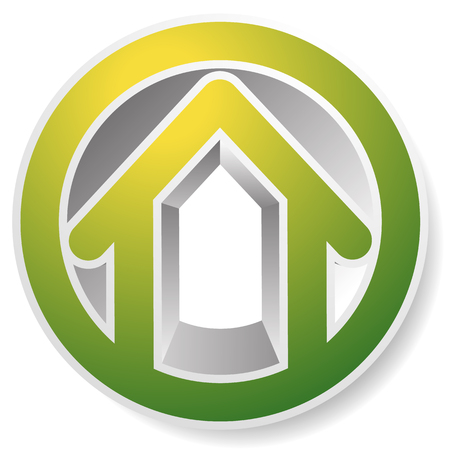 Contour house  building symbol, icon or