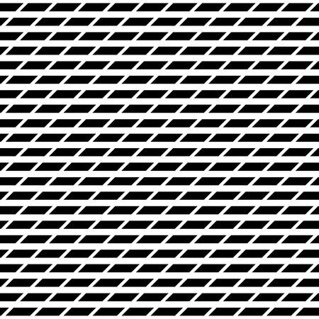 Tileable grid  mesh geometric pattern series. Repeatable monochrome texture. Illustration
