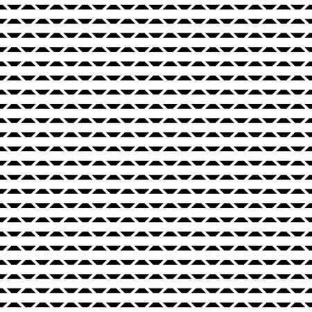 grille Tileable / maillage série de motifs géométriques. Répétable texture monochrome.