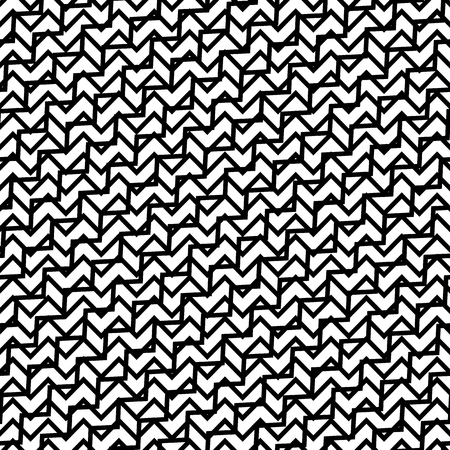 grillage: Tileable grid  mesh geometric pattern series. Repeatable monochrome texture. Illustration