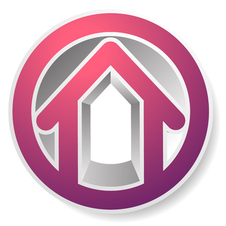 abode: Contour house  building symbol, icon or