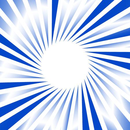 Monochrome rotating starburst  sunburst element w random gradient fills Illustration