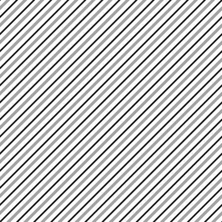 slanting: Diagonal lines seamless repeatable pattern. Oblique, slanting lines grayscale pattern  texture. Illustration