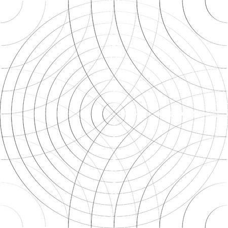 cellular: Cellular pattern with thin lines of circles. (Repeatable subtle texture) Illustration