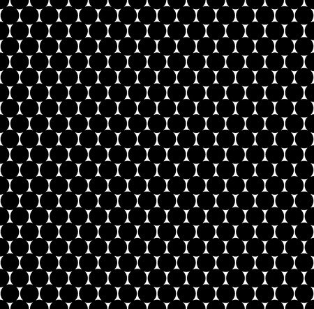 repeatable texture: Seamlessly repeatable pattern with dots, circles. Monochrome abstract illustration in speckled, halftone style. Geometric pointillist texture.