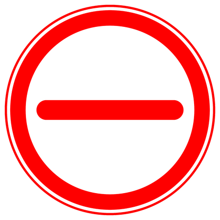 Printable restriction, prohibition signs, prohibitive road signs