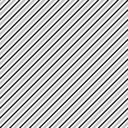 skew: Diagonal lines seamless repeatable pattern. Oblique, slanting lines grayscale pattern  texture. Illustration