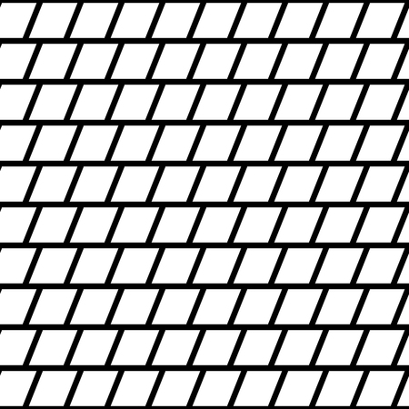 repeatable texture: Repeatable mosaic pattern with parallelograms. Geometric texture