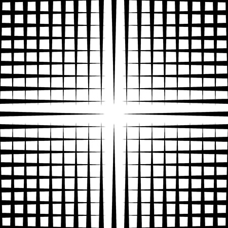reticulation: Grid mesh pattern with irregular lines - Seamlessly repeatable Illustration