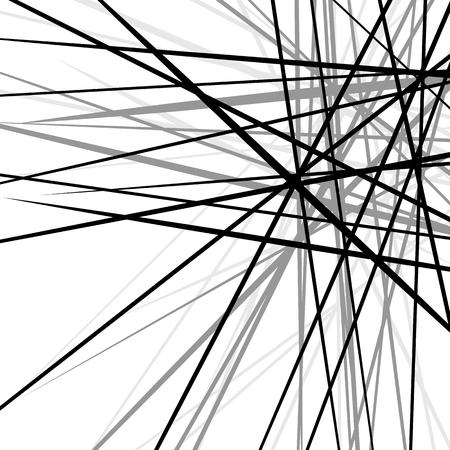 líneas caóticas nervioso al azar. textura geométrica abstracta