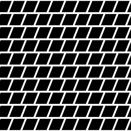 reticular: Repeatable mosaic pattern with parallelograms. Geometric texture