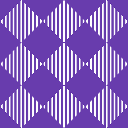 alternating: Classic simple 1 color pattern  background with mosaic of squares. Monochrome texture with alternating squares with linear filling. (Repeatable) Illustration