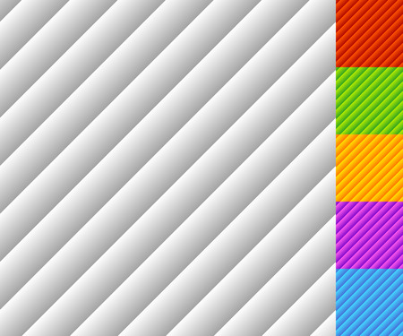 Slanted lines pattern with gradient fills. Each tile is seamless. Vector Illustration