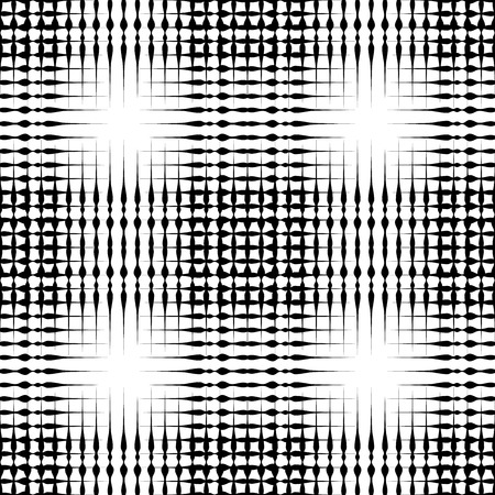 Grid mesh pattern with irregular lines - Seamlessly repeatable Illustration