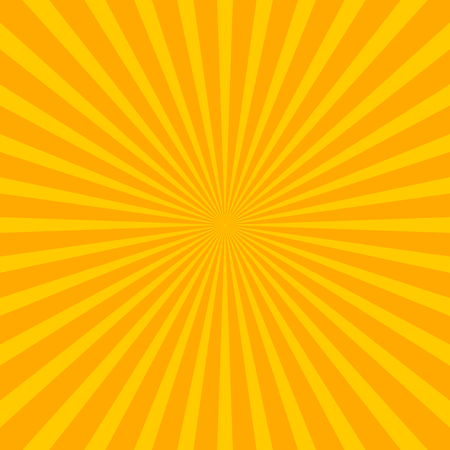 sunbeam: Bright starburst (sunburst) background with regular radiating lines, stripes