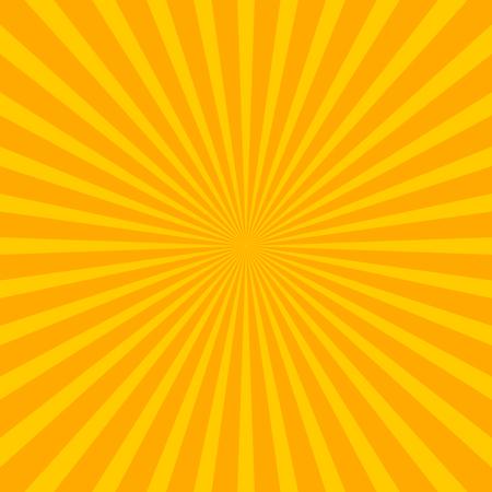 sunbeams: Bright starburst (sunburst) background with regular radiating lines, stripes
