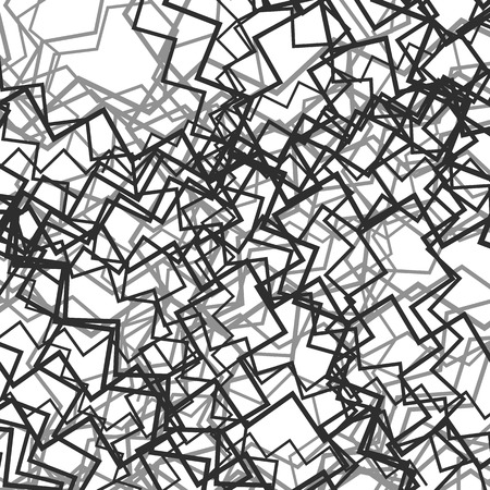 undulate: Random chaotic lines abstract grayscale texture  pattern