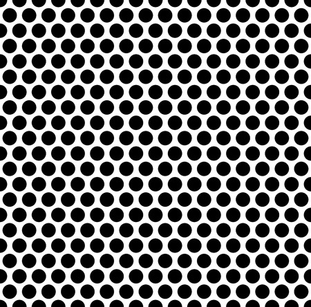 grating: Grating pattern with grid, mesh of circles. Repeatable. Illustration