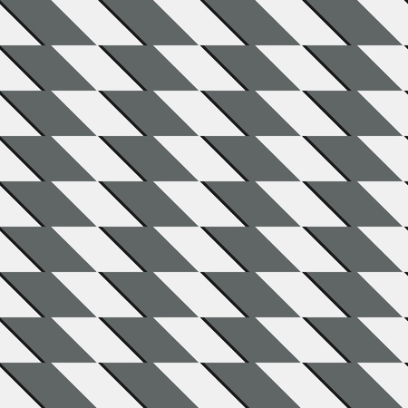 tilting: Zigzag repeatable pattern with parallelograms - Geometric abstract background Illustration