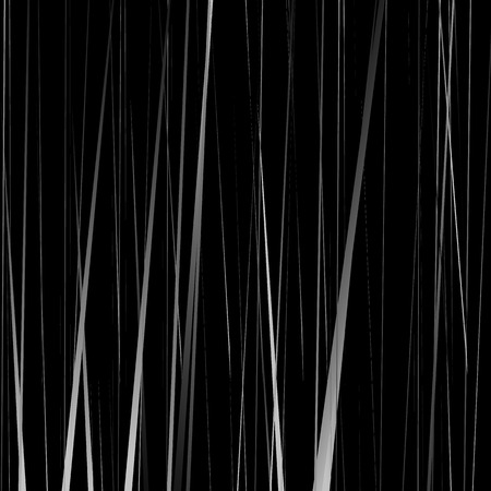 streaks: Geometric monochrome illustration with random vertical lines, streaks