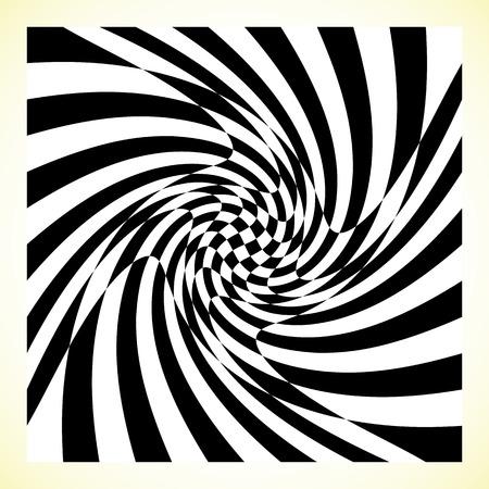 checker board: Checkered pattern (chess board, checker board) with distortion