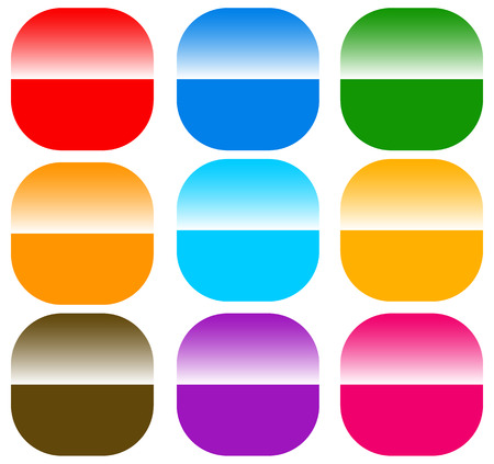 shiver: button  badge  pin  tag  label shapes, elements