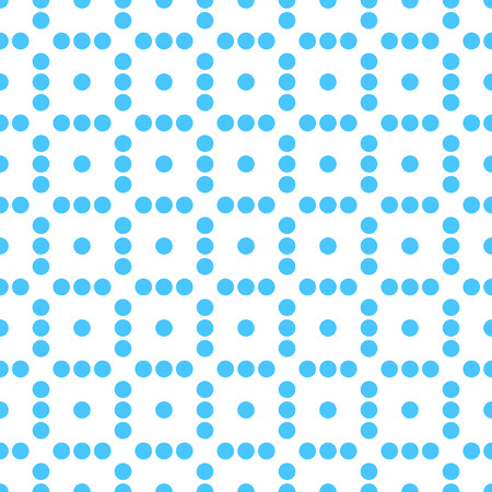 polkadots: Seamlessly repeatable dotted, polka dot pattern. Pattern with mosaic of circles.