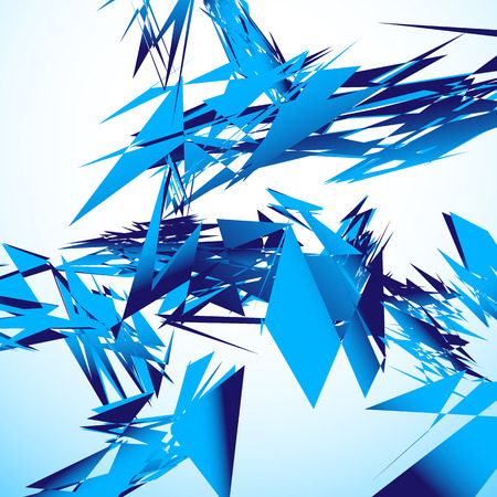 shards: Abstract shattered digital art with random edgy shards. Digital art abstract illustration