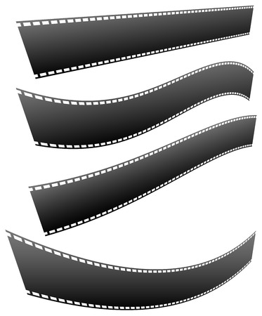 filmstrips: Filmstrips for photography, multimedia or related topics Illustration