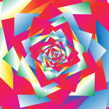Textura caótica, patrón con efecto de refracción similar. Masa de formas geométricas irregulares nervioso. Irreal ejemplo abstracto multicolor.