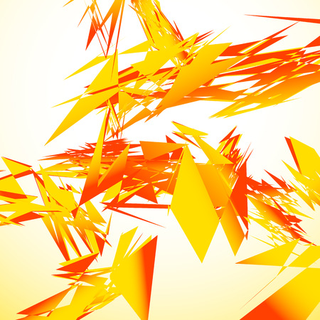 strain: Abstract shattered digital art with random edgy shards. Digital art abstract illustration
