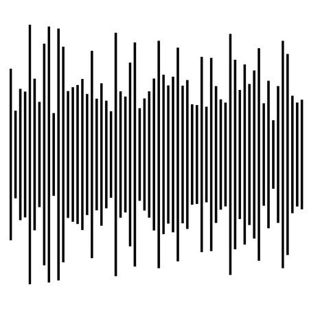 barchart: eq, equalizer element. bar chart, bar graph with irregular dynamic lines