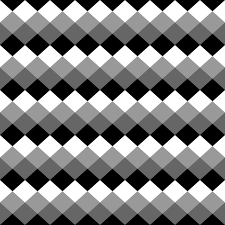 grayscale: Squares abstract repeatable geometric monochrome (grayscale) pattern, texture