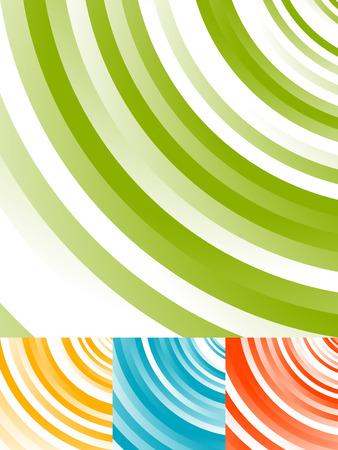 distortion: Radial circles abstract background. Spiral, vortex geometric pattern