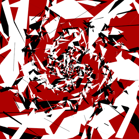 chaotic: Abstract art with random, chaotic shapes. Artistic illustration.