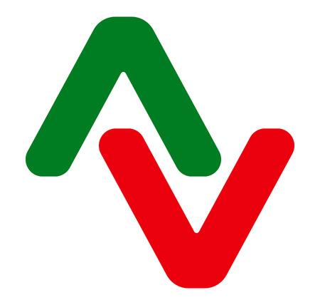 arrowheads: Pair of arrowheads. Arrow  , arrow icon with 2 arrows.