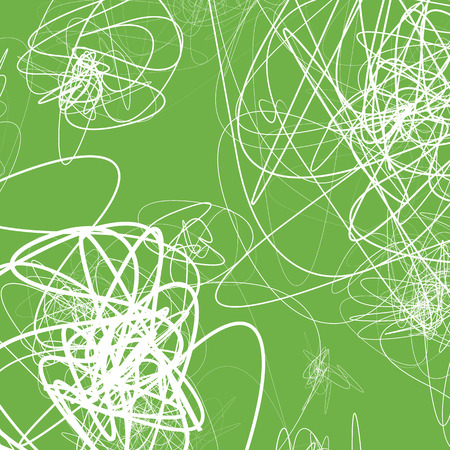 wriggle: Random sketchy lines abstract monochrome background, pattern
