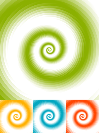 epicentre: Radial circles abstract background. Spiral, vortex geometric pattern