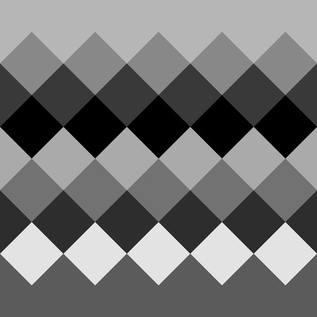 grayscale: Monochrome grayscale geometric pattern, background. Seamlessly repeatable. Illustration