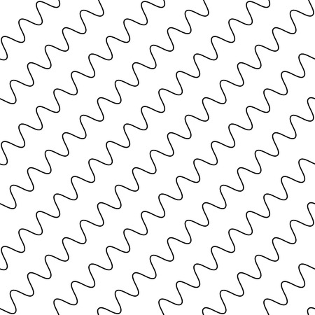 wriggle: Wavy, zigzag parallel lines repeatable pattern