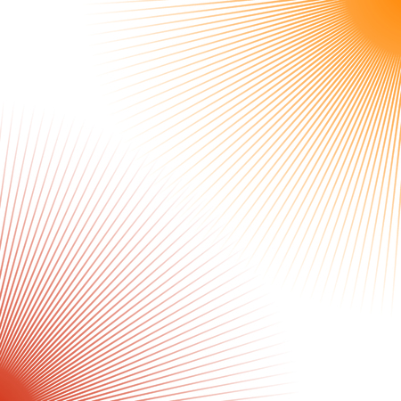 duo tone: Duotone abstract geometric backdrop with radial thin lines spreading from corners